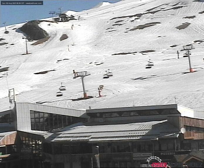 Webkamera L'Alpe d'Huez